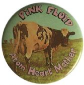 Pink Floyd - 'Atom Heart Mother' Button Badge